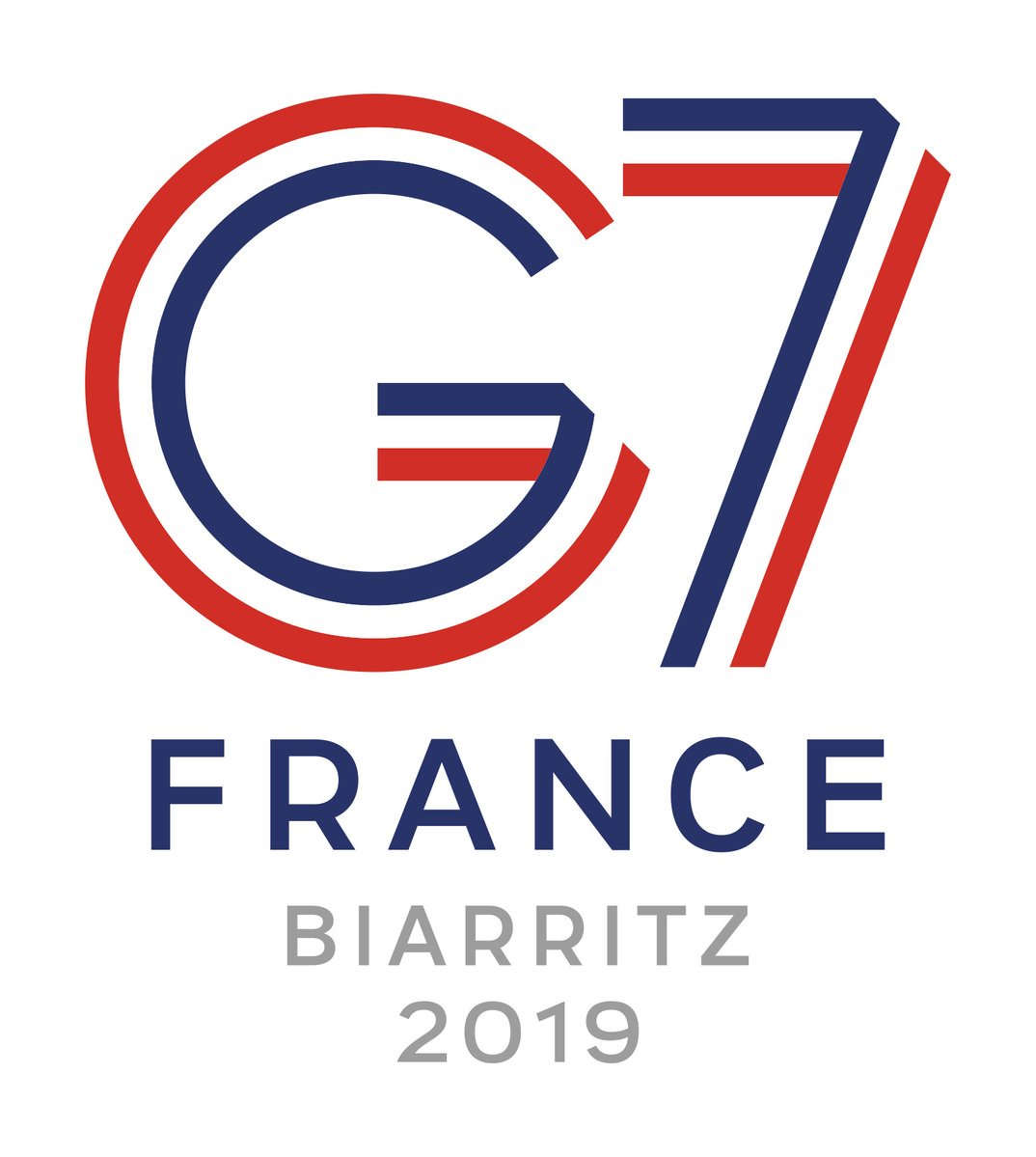 Logo of the G7 Biarritz Summit